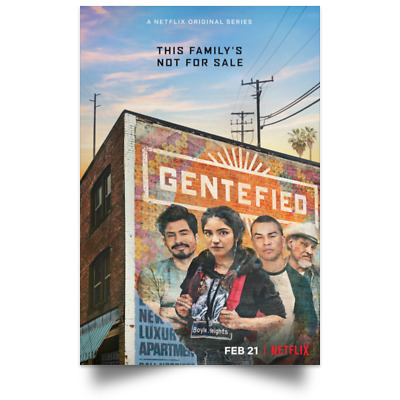 Gentefied TV New Movie Poster Size 12x18 16x24 24x36 32x48