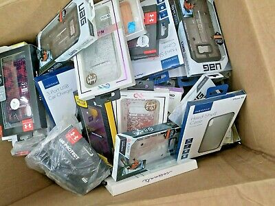 LOT OF 100 PREMIUM BRANDED PHONE CASES - ACCESSORIES iPhone X XR XS Max 11 Pro