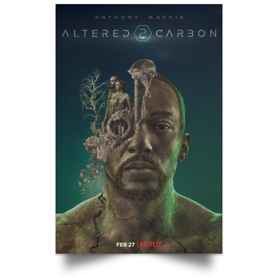 Altered Carbon New Movie Poster Size 12x18 16x24 24x36 32x48