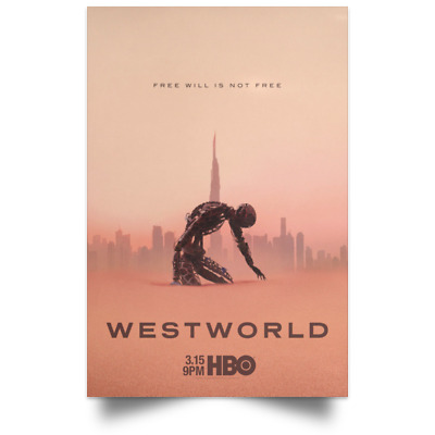 Westworld TV New and Best Movie Poster Size 12x18 16x24 24x36 32x48