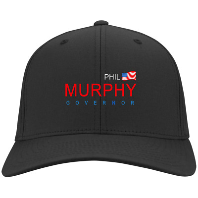 New Phil Murphy Governor New Jersey for Elector CP80 Twill Cap Black