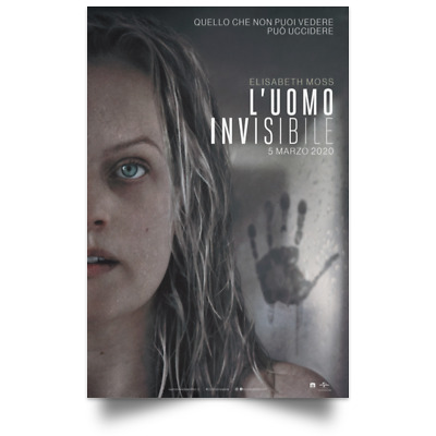 The Invisible Man New Movie Poster Size 12x18 16x24 24x36 32x48