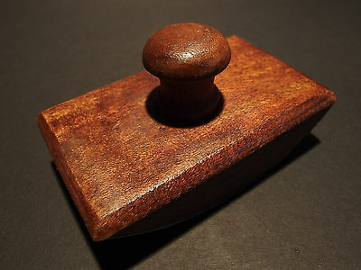 Antique Style Solid Wood Dip Pen Writing Ink Blotter