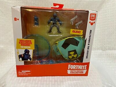 New Fortnite Battle Royale Collection Meltdown - The Visitor Figure and Glider