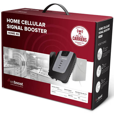weBoost Home 4G Cell Phone Booster Kit - 470101 Open Box