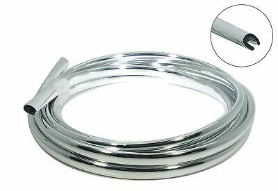 16feet5metres Chrome Car Door Edge Guard Molding Trim Protector Strip U Shape