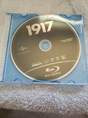 1917 Blu Ray Disc Only