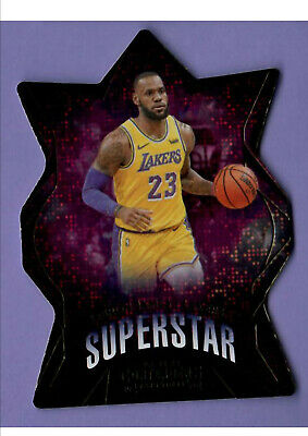 2019-20 Contenders LeBron James Superstar Die-Cut Insert Lakers