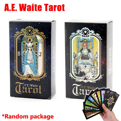 78Pcs Waite Rider Tarot Deck Cards English Version Future Telling
