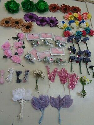 ASSORTED   MILLINERY   FLOWERS CRAFTS
