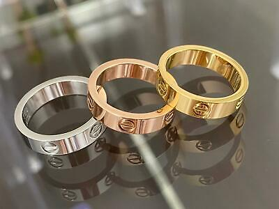 Premium High Quality Stainless Steel Love Ring - Matching Bracelet