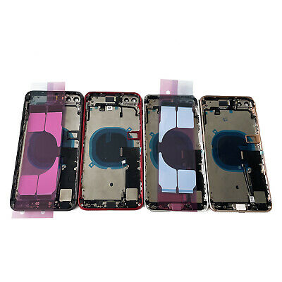 Replacement Glass Housing Battery Back Cover Frame Assembly For iPhone 8 Plus US