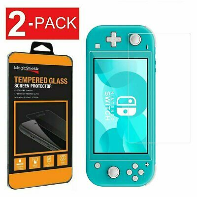 2-Pack Tempered Glass Screen Protector for Nintendo Switch Lite Gaming System