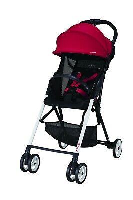Combi F2 Lightweight Stroller  Flame Red  ITEM CLOSEOUT  Was 199-99