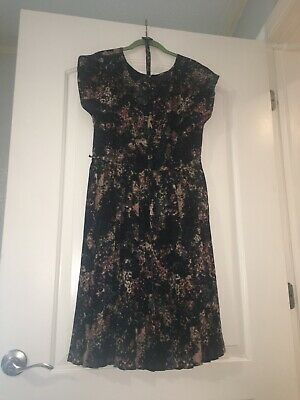 Great Plains Dress ASO Kate Middleton Size Medium 15 in waist and 40 in length-