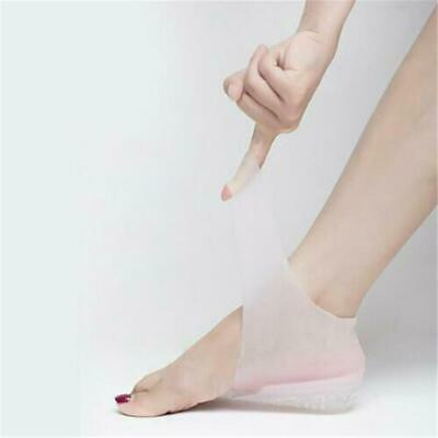 Invisible Heel Pad Lift Taller Sock Liner Height Increase Insole Heightened Pads