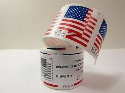 USPS 2018 Flag Forever Stamps SEALED Coil of 100- FREE SHIPPING