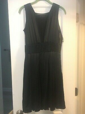 Issa London black dress with sheer panels- ASO Kate Middleton- SEE Description-
