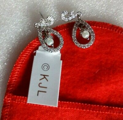 Kenneth Jay Lanes Royal Wedding of Kate Middleton Pierced Earrings - Replica