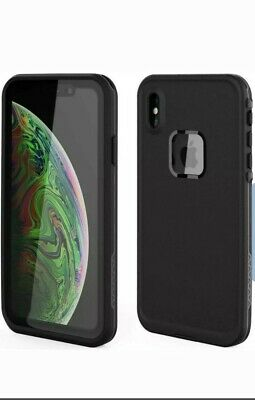 Iphone XS Waterproof Shockproof Cell Phone Case With Screen Protector