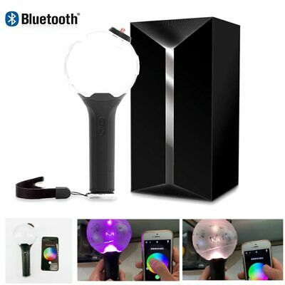 2019 BTS Bluetooth Light Stick Ver 3-0 Army Bomb LED Lamp Lightstick US