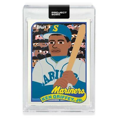 KEN GRIFFEY JR- Topps Project 2020 Card 87 or 88 KEITH SHORE PRE-ORDER