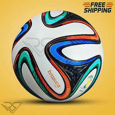 BRAZUCA FIFA WORLD CUP 2014 BRAZIL SOCCER BALL SIZE 5 BY - Rampage Sports