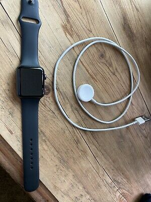 series 3 apple watch 42mm With Charger 4 Months Old