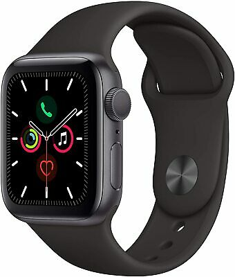 iWatch Series 5 GPS 40mm - Space Gray Aluminum Case with Black Sport Band