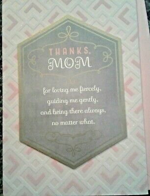 Hallmark Mom Mother Mothers Mothers Day Card Thanks 3-D Social Distancing 6-29