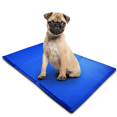 Pet Cooling Mat Cool Gel Pad Cooling Pet Bed for Dog Non-Toxic Water proof USA