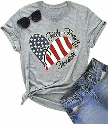 Fourth of July Family T Shirts Size S to 6XL
