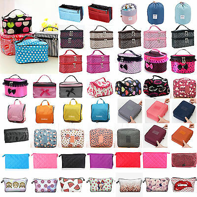 Women Hanging Organizer Travel Cosmetic Storage Bag Makeup Holder Pouch Toiletry