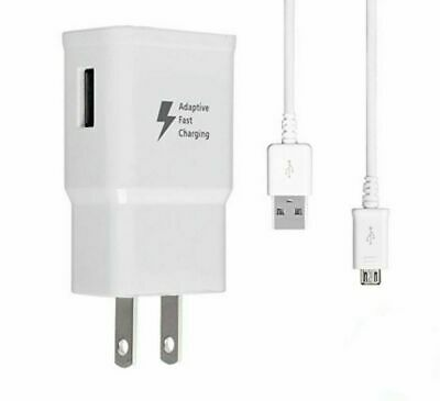 OEM Original Fast Charger USB Cord Cable for Samsung Galaxy S7 White