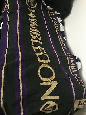 2004 Wimbledon Tennis Championship Towel Pool Beach By Christy Carrying Case