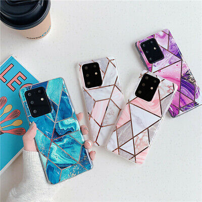 Marble Case Cover For Samsung Galaxy Note 20 S10 Plus S9 S8 S20 S20 PLUSULTRA