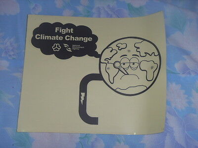 Brand New Fight Climate Change sticker Free postage