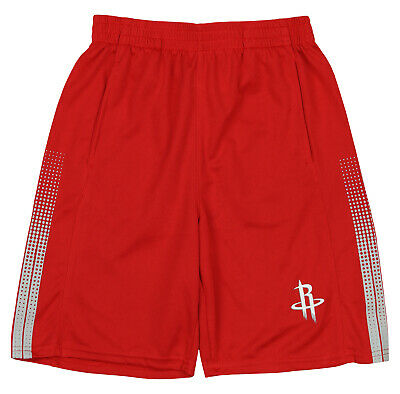 Outerstuff NBA Youth Houston Rockets Slam Dunk Shorts Red