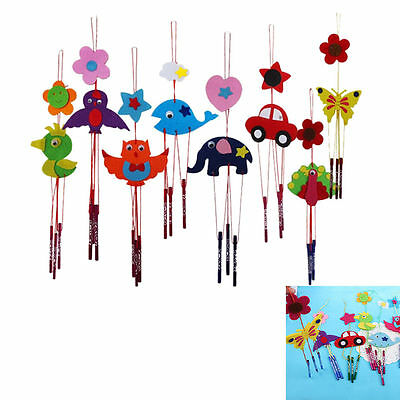 2x DIY Campanula Wind Chime Kids Manual Arts and Crafts Toys for Kids SUPEDO-ZH