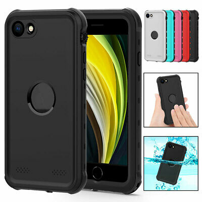 For iPhone 7 8 SE 2 Shockproof Waterproof Phone Case with Screen Protector Cover