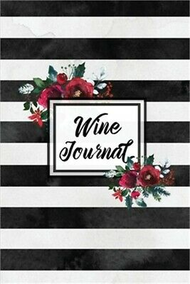 Wine Journal Tasting Wines Notebook Personal Review Log Notes Pages Write - R