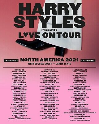 FOUR 4 HARRY STYLES LOVE ON TOUR NYC 101621 CHERRY PIT TICKETS
