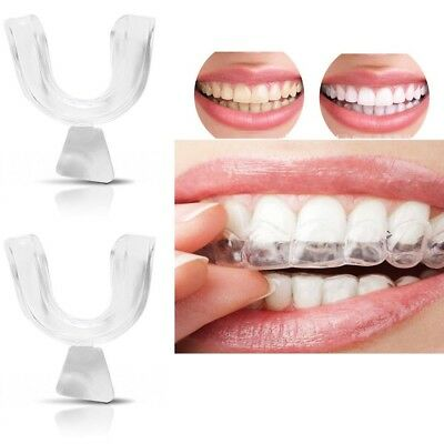 4x Silicone Night Mouth Guard for Teeth Clenching Grinding Dental Sleep Aid HOT