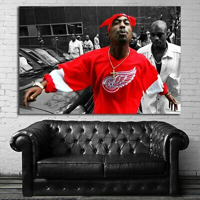 EB061 Tupac 2Pac Rap Hip Hop Art Music Musician Poster and Canvas