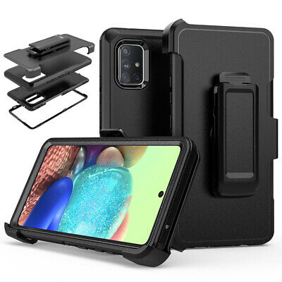 For Samsung Galaxy A71 A51 4G5G Shockproof Case Belt Clip Holster Fits Otterbox
