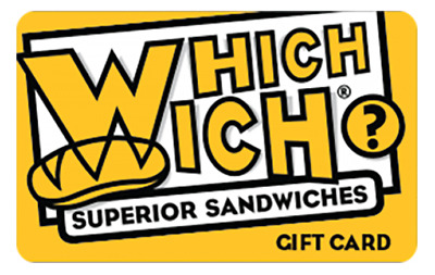 60 value Which Wich Gift card
