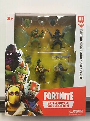 Fortnite Battle Royale Collection- Raptor Rust Lord Rex Raven- Epic Games New