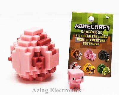 Minecraft Spawn Egg Pig Mini Figure