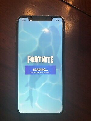 Fortnite Mobile Installed iPhone X