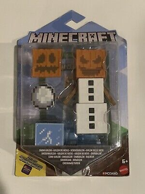 Minecraft Comic Maker Snow Golem Action Figure - New in box